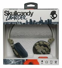 Skullcandy Lowrider On-ear Headphones Con Mic-camo/bone/slate