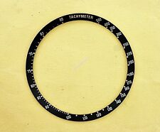 NEW SEIKO BLACK BEZEL INSERT FOR 6138 0030 6138-0040 BULLHEAD CHRONOGRAPH NR#160