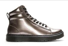 DR MARTENS 9 Eye Jered Boot Metallic Pewter Unisex