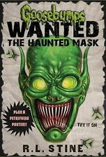 Goosebumps Wanted: The Haunted Mask, Stine, R.L., Good Condition, Book