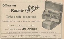 Y7253 Rasoir STAR - Pubblicità d'epoca - 1923 Old advertising
