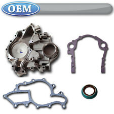 OEM NEW 1995-2007 Ford Taurus Timing Cover Kit, Crank Seal + Water Pump Gaskets