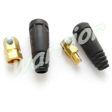 200Amp-300Amp 35-50 Cable Connector Male Plug and Female Socket Euro Style