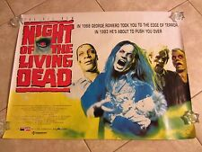 Night Of The Living Dead movie poster - Zombie Horror (1993)