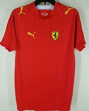 Puma Ferrari Mens Athletic Jersey Mesh M red Racing  official pre-owned