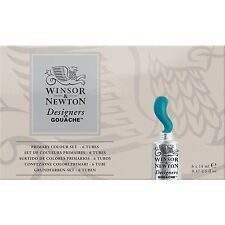 Winsor & Newton Designers Gouache primary colour set - 6x14ml  tubes
