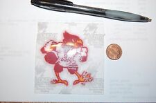 Louisville Cardinals 2 1/2 Lextra Patch 1980-2000 Primary Logo College