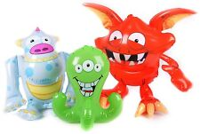 Inflatable Monster Various Party Accessory Table Decor Birthday Shower Kids NEW