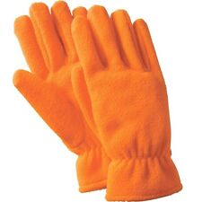 Orange Fleece Hunting & Safety Gloves