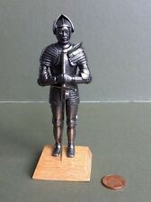 Knight in Full Armour with Sword, Doll House Miniature, Medieval, Warrior