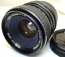 Yashica 50mm f1.9 Manual Focus Lens adapted Sony E cameras NEX ILCE a6300 a5100