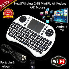 Wireless 2.4 g Pequeño Mini Teclado Mouse Teclado Para tv/laptop/xbox360 Reino Unido vender