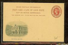 CAPE OF GOOD HOPE (P2605B) QV PSC ILLUSTRATED GPO  CAPETOWN  UNUSED