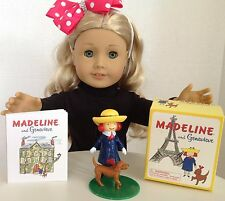 "Madeline & Genevieve for 18"" American Girl Doll Mini Book Accessories SET"