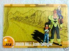 HTF JAPAN DRAGONBALL x MORINAGA Chocolate Wafer SuShuu Card ANDROID 16 17 18 113