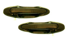 Pair Sliding Door Exterior Handles -Left & Right Side - Fits 00-04 Mazda MPV