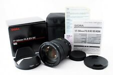 Sigma DC 17-50mm F/2.8 ExX HSM OS for Sony / Minolta w/ Box [N Mint] From Japan