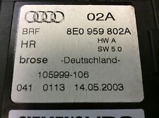 Audi A4 S4 Right Side Rear -Power Window Motor 8E0959802A