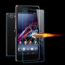 Front+Back Tempered Glass Film Screen Protector for Sony Xperia Z1 Compact