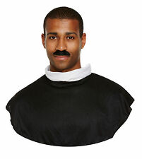 Adult Mens Vicar Collar for Priest Father Holy Fancy Dress Accessory