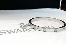 SWAROVSKI TACTIC BANGLE THIN RHS SIZE MEDIUM *NEW IN BOX*