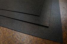 """2 Large Black ABS Plastic Sheet 24x24x1/16 (0.06"""") Vaccum Forming/Audio/Interior"""