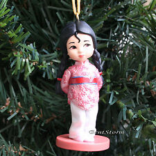 CUSTOM Disney Animators Chinese Princess MULAN Toddler Christmas Ornament PVC
