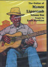 The Guitar of Mance Lipscomb Volume 1 Learn How to Play Tuition DVD