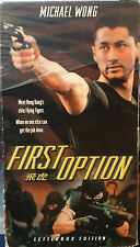 First Option (VHS, Letterboxed Dubbed Version) 1996 Michael Wong action thriller