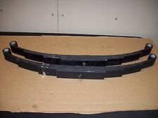 2 -New Utility Trailer Leaf Spring 4 Leaf Double Eye 1750lbs  3500 lbs Axle Boat
