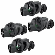 4 PCS Circulation Pump Wave Maker 1300 GPH Aquarium Powerhead Suction Cup Mount