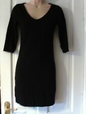 BLACK SIZE 8 SHORT DRESS BY NEW LOOK
