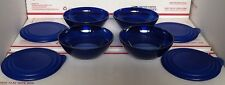 New Tupperware Sheerly Elegant Illusions Mini Bowls: Midnight Blue With Glitters