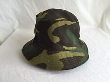 Vintage 90s Real Tree Camo Wood Hunting Fishing Bucket Boonie Hat Cap USA EUC