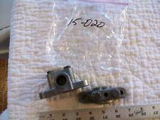 "2 Heavy Alloy Spindle Mounting Bases or Feet  or Blocks @3 3/4"" Long 3/4"" Bore"