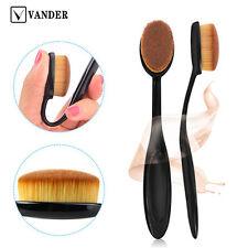 Profi Foundation Oval Make Up Pinsel Puderpinsel Kosmetik BB Brush Zahnbürste