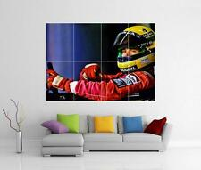 Ayrton senna F1 casque-giant wall art imprimé photo affiche