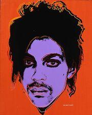 Andy Warhol Príncipe A4 brillante de la foto A4 280gsm Rock Pop Music Leyenda