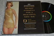 BAZAAR'S SECRET FORMULA FOR A BEAUTIFUL NEW YOU w/BOOK GF VG LP