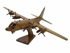 USAF AFSOC Air Force AC-130 AC-130U Spectre Spooky Gunship Wood Wooden Model New
