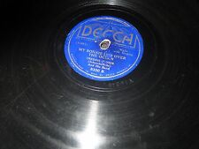 78RPM Decca 5330 Freddie Fisher, My Bonnie Lies Over the Ocean / Alice V-