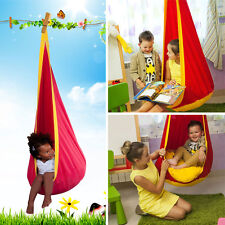 Practical Child Kid Baby Reading Nook Outdoor Hanging Chair Hammock Swing Tools
