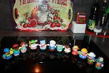12 personnages Little People Fisher Price vintage occasion LOT 7