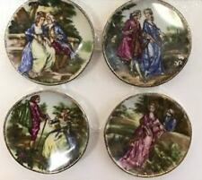 Dollhouse Miniature Victorian Romance Plate Set Doll House Furniture