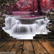 Waterfall Vinyl Photography Backdrop Background Studio Photo Props 5x7ft CL77