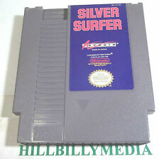 Silver Surfer (Nintendo) 1990 good condition NES action shooter game FREE SHIP