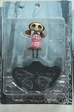 "CORPSE BRIDE SMALLEST SKELETON GIRL CHILD GOTHIC 5"" FIGURE DOLL TIM BURTON BOX"
