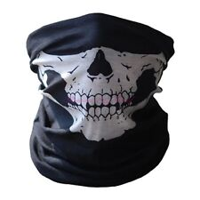 Bicycle Ski Skull Half Face Mask Ghost Scarf Multi Use Neck Warmer Headwear Cool