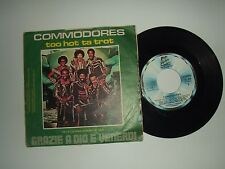"Commodores ‎/ Three Times A Lady – Disco Vinile 45 Giri 7""  Italia 1978"