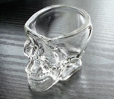 Skull Head Crystal Shot Glass